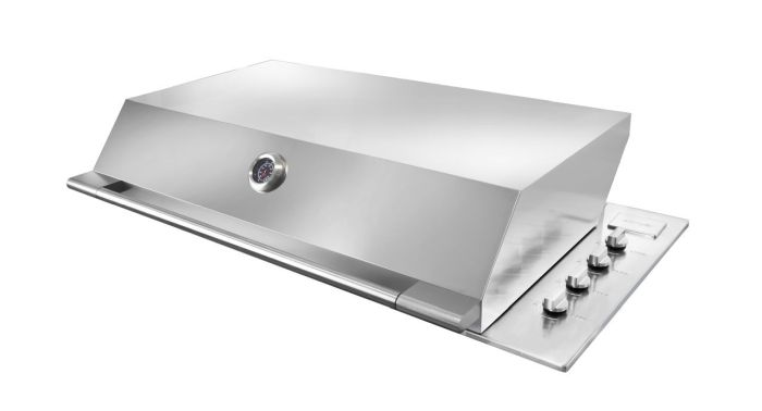 Artusi Appliances stainless steel built-in barbecue
