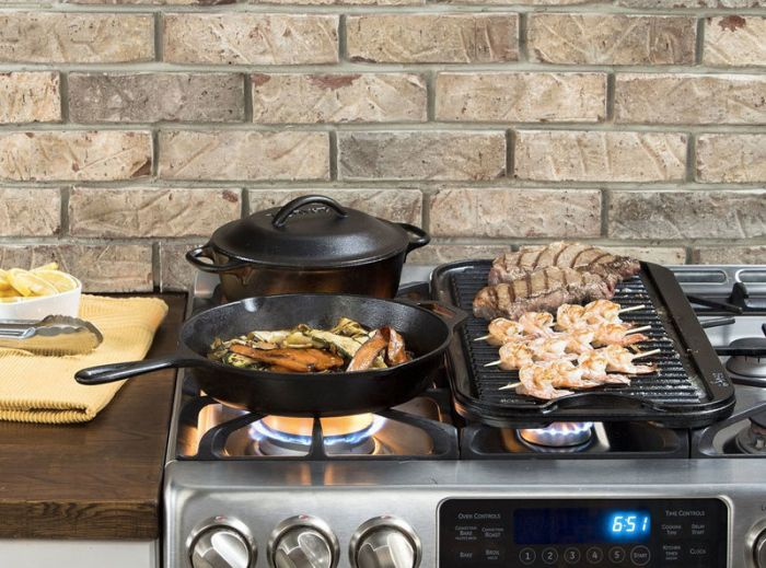 Lodge Reversible Cast Iron Grill