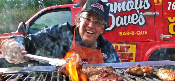 Famous Dave 2017 Inductee for the Barbecue Hall of Fame