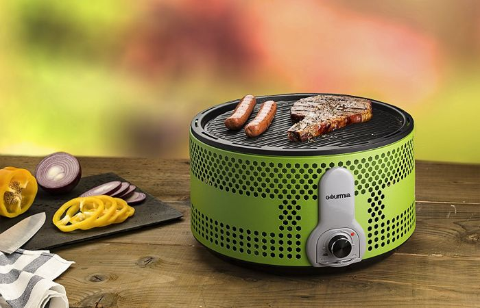 Gourmia portable electric BBQ grill