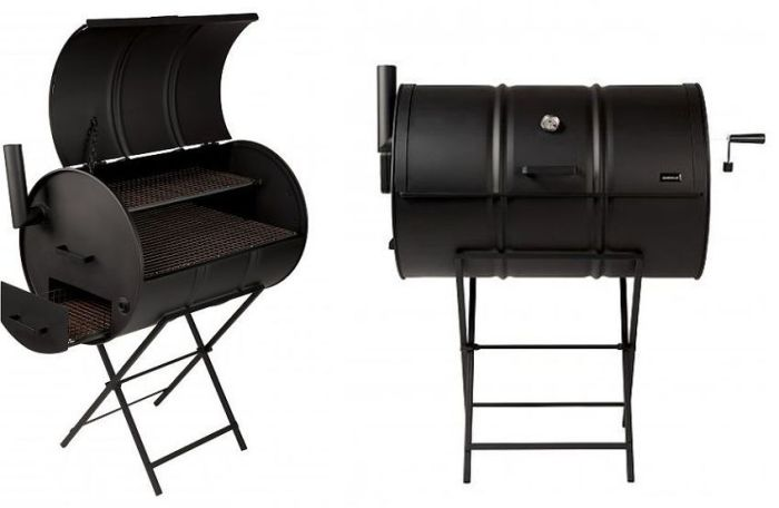 Drumbecue-Charcoal-BBQ-Smoker