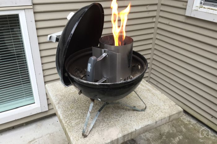 Weber Smokey Joe portable charcoal grill