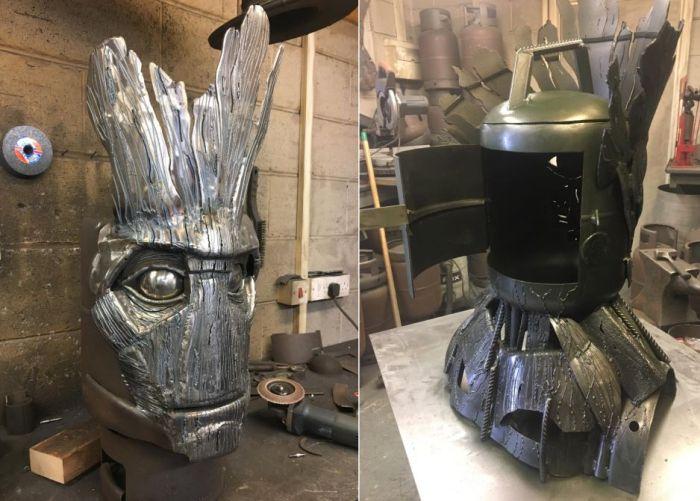 Groot Wood Burner and BBQ