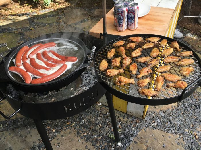 Kudu Multi Leveled Grill Is All You Need For Your Next