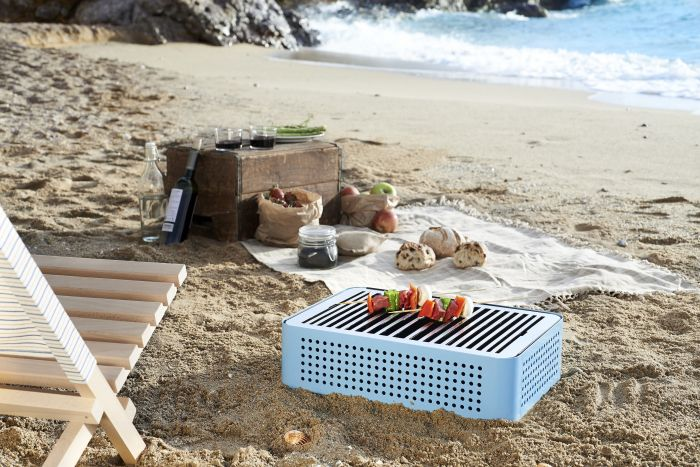 Mon Oncle Suitcase-Shaped Portable BBQ Grill