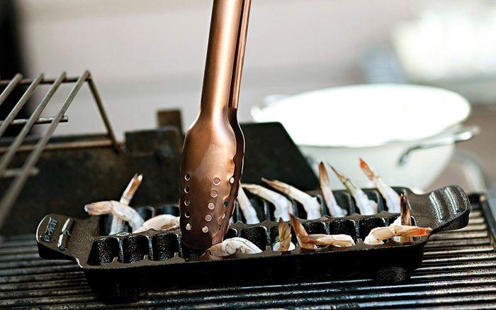 Outset Shrimp Cast Iron Grill