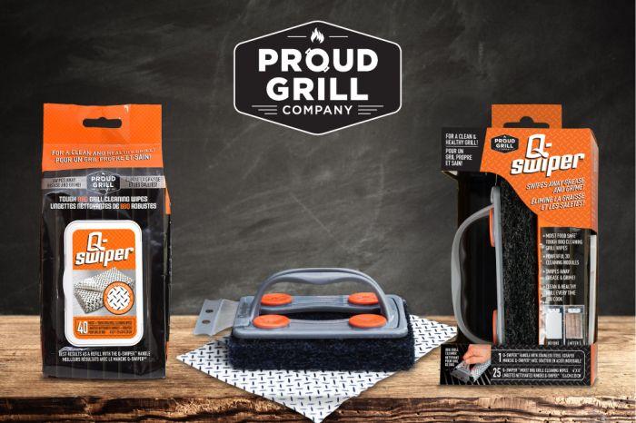 Q-Swiper BBQ Grill Cleaner