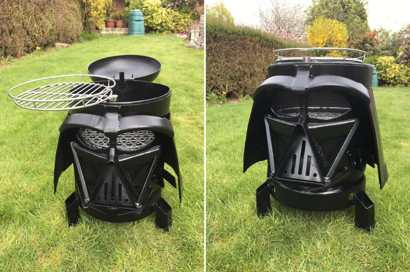 Death Star BBQ Smoker